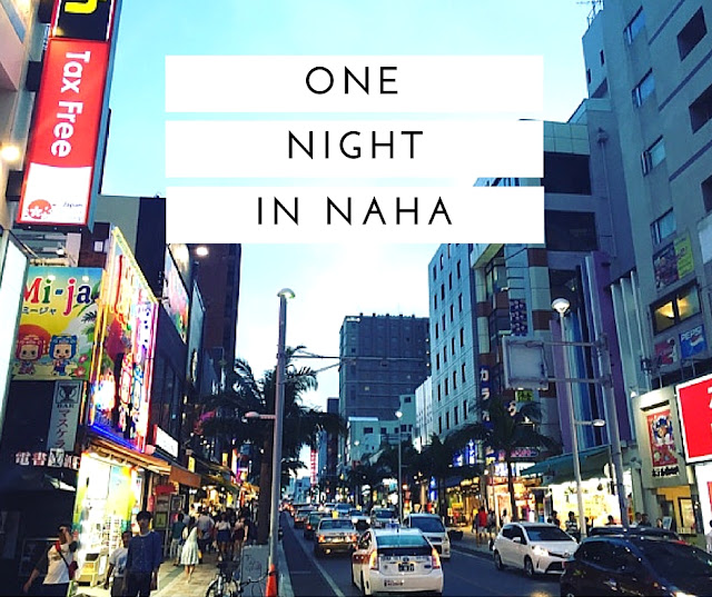 Naha is the largest city in Okinawa, and has a great relaxed vibe.