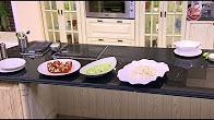برنامج الشيف حلقة  9-8-2017 طريقة عمل طماطم محشية لحم مفروم - كاليماري بالسبانخ - كلو سلو بالزبيب مع الشيف شربيني