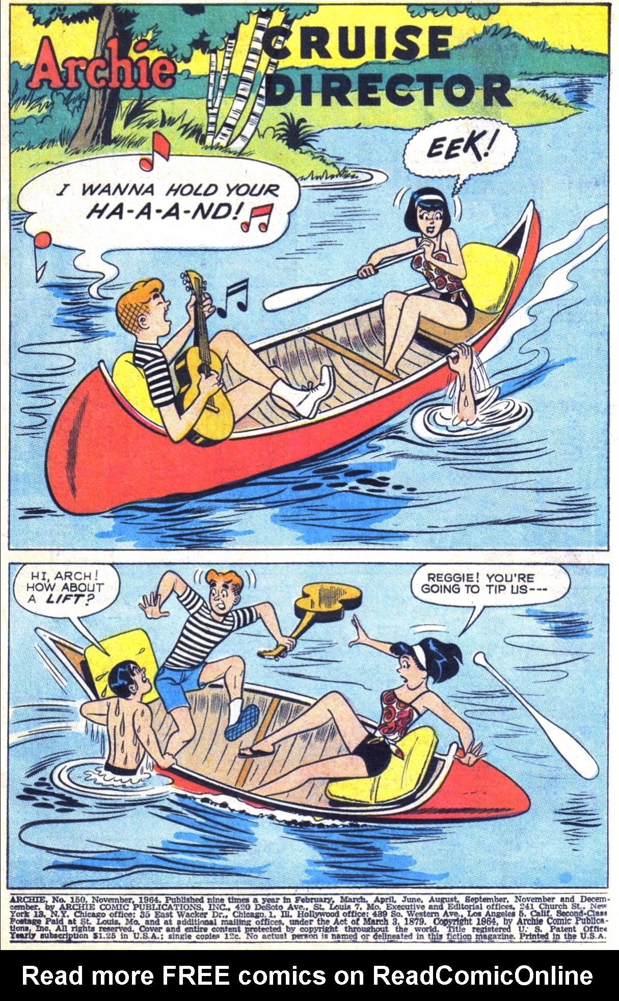 Read online Archie (1960) comic -  Issue #150 - 3