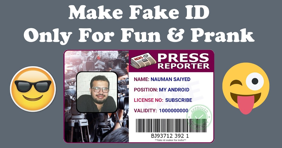 Id Fun Only Prank To amp; How Fake - Make For