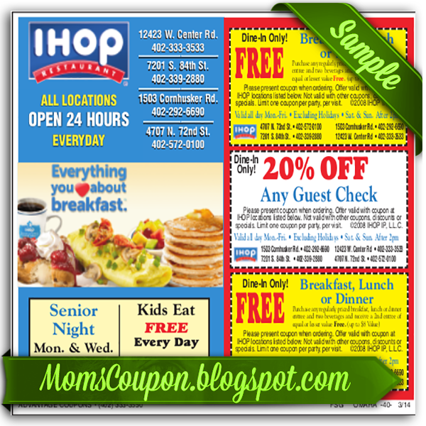 Free Printable Ihop Coupons Sources