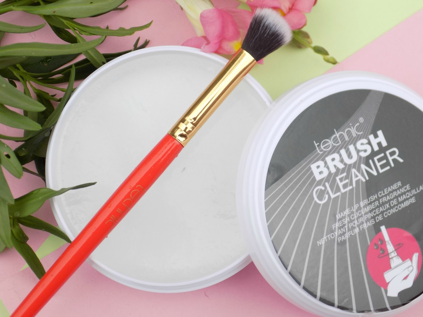 Technic makeup brush cleaner review