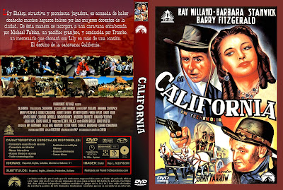 Cover, dvd, carátula:  California | 1946