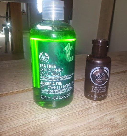 Achats The Body Shop et Lush
