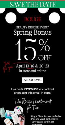 Sephora Spring 2018 VIB Sale details - www.modenmakeup.com