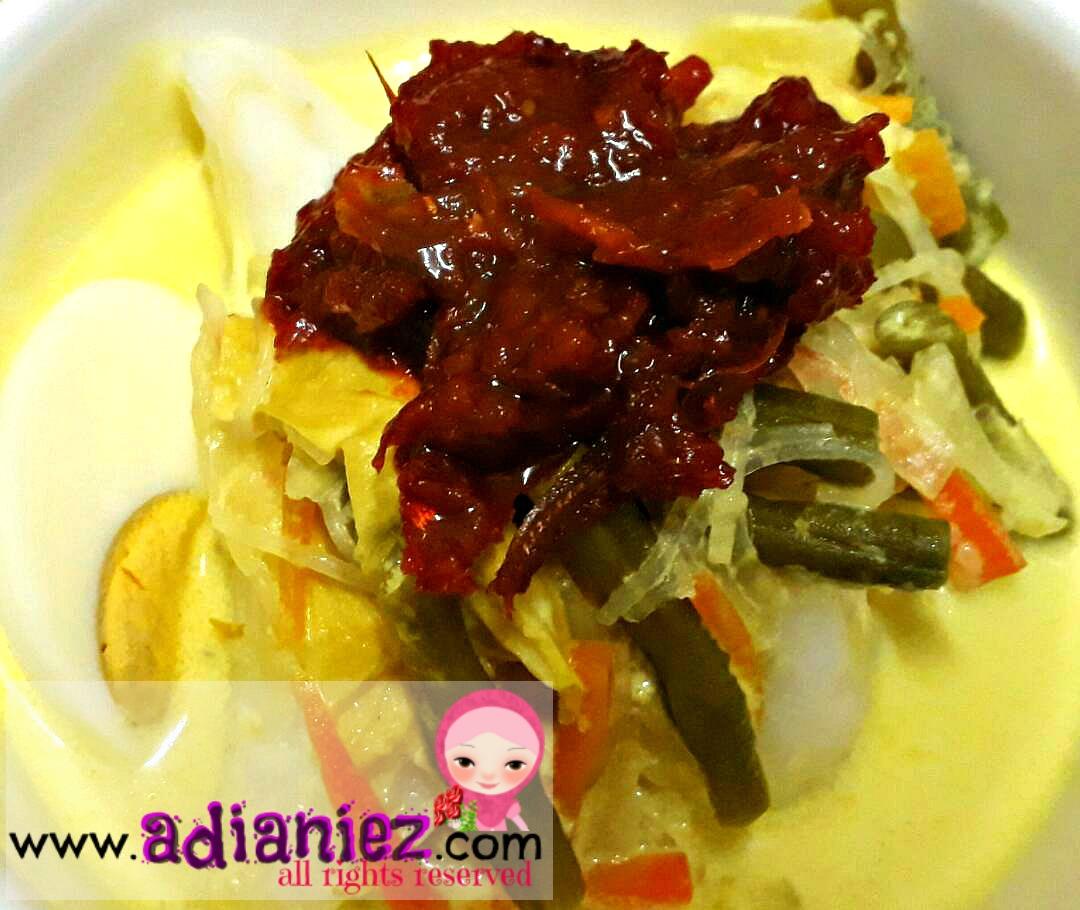 Resepi Kuah Lodeh Aidilfitri Yang Mudah Blog Adianiez