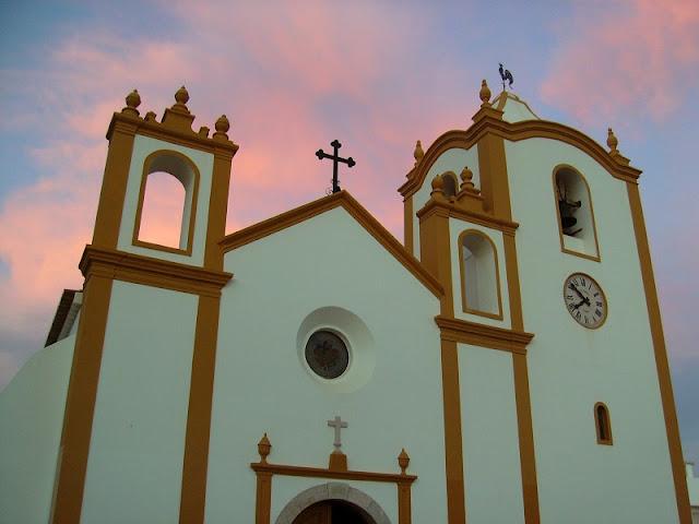 Igreja da Luz deLagos no Algarve