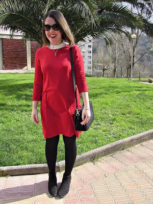 Botines y vestidos