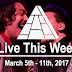 Live This Week: March 5th - 11th, 2017