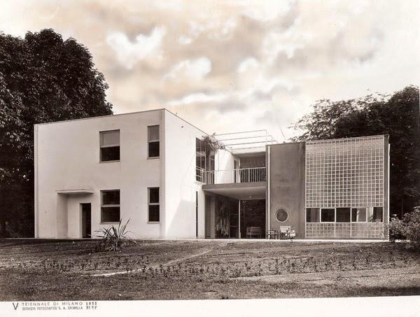 Como gli anni 30 futuristi e astrattisti for Casa sul lago a 2 piani