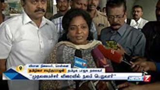 Tamilisai speaks about treatments given to Jayalalithaa