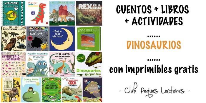 cuentos, libro y actividades infantiles para niños sobre dinosaurios prehistoria