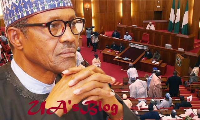 Saraki blasts APC after Buhari was booed at National Assembly