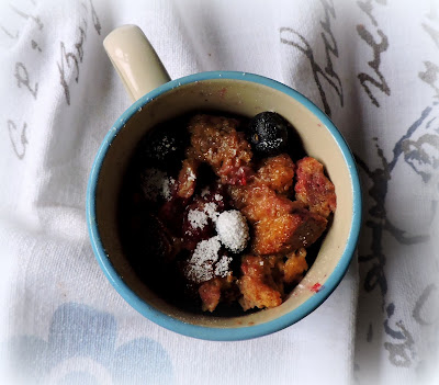 Berry French Toast in a Mug