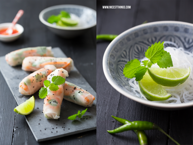 Summer Rolls Food Photography