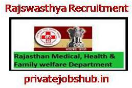 Rajswasthya Recruitment