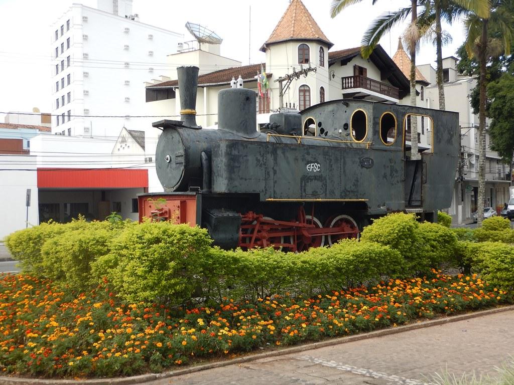 Locomotiva Macuca em Blumenau