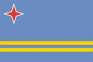 Bamdeira de Aruba - Território Holandês
