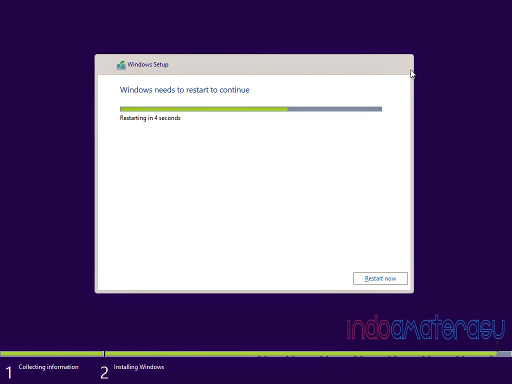 Cara install Windows 10 0