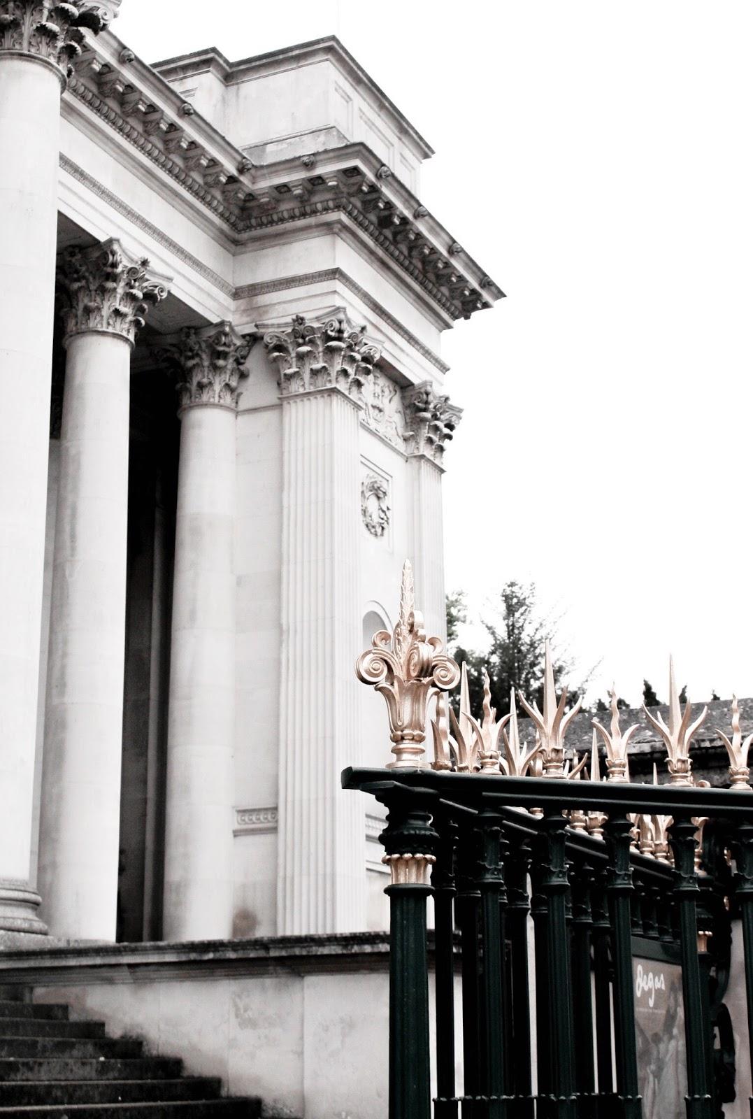 The Fitzwilliam Museum Cambridge Exterior Gates