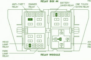 acura cl fuse box diagram wiring diagrams
