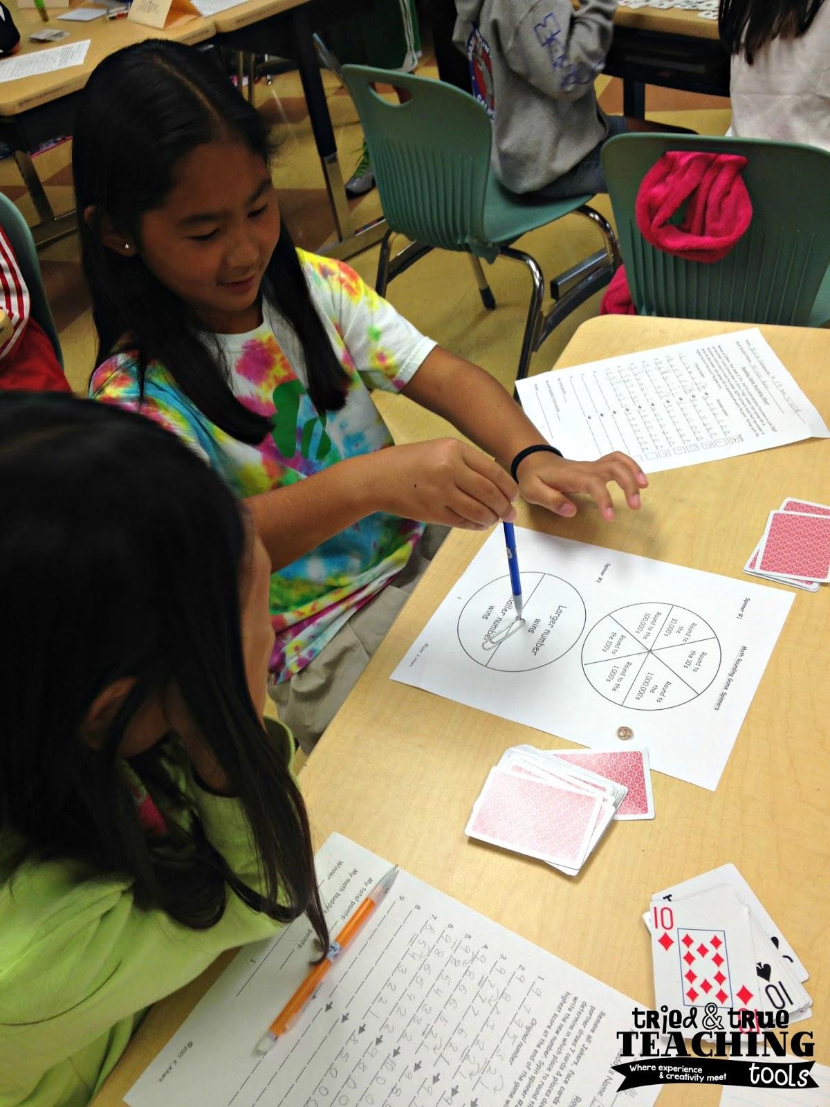 Differentiated Math Menus In Math Workshop