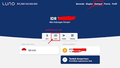 LUNO bisa digunakan untuk menukar rupiah ke bitcoin dan transfer ke seluruh dunia