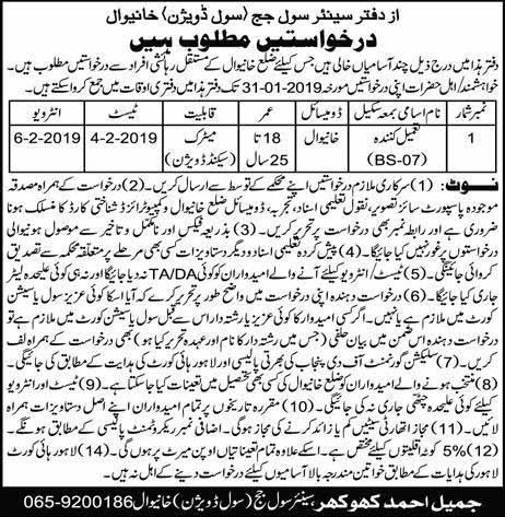 TEVTA Jobs 2019 in Muzaffarabad