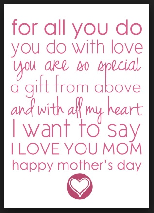 mothers day poems from daughter