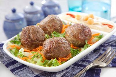 كفتة لحم البقر والغنم - مطبخ منال العالم