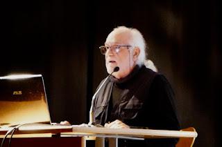 Eugenio Monesma durante su intervención que cierra la primera Jornada.