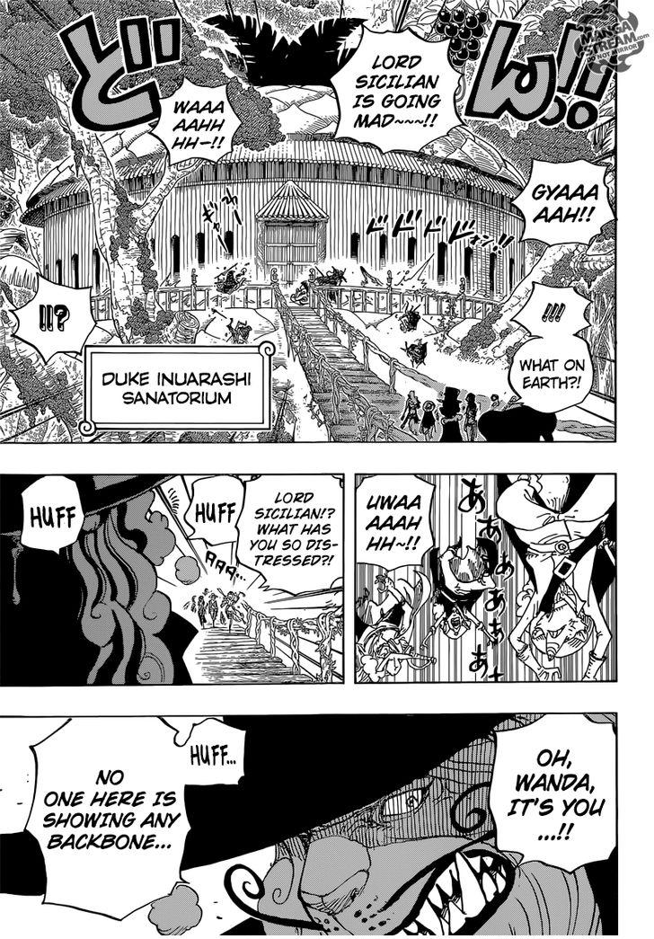 One Piece Ch 808: Duke Inuarashi