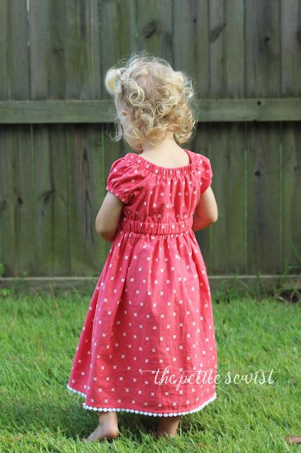 toddler peasant dress sewing pattern