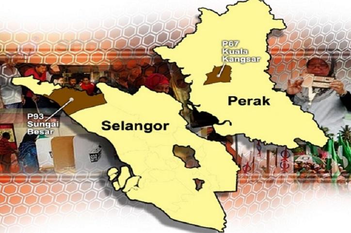 Keputusan Rasmi PRK Parlimen Sungai Besar dan Kuala Kangsar