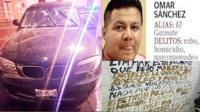 """CJNG se la """"sentencio"""" al """"Gaznate"""" de """"La U"""", y lo ejecuta, va por mas """"sentenciados"""""""
