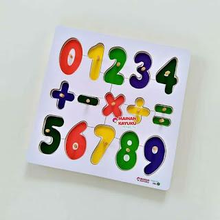 Chunky Knob Puzzles Angka