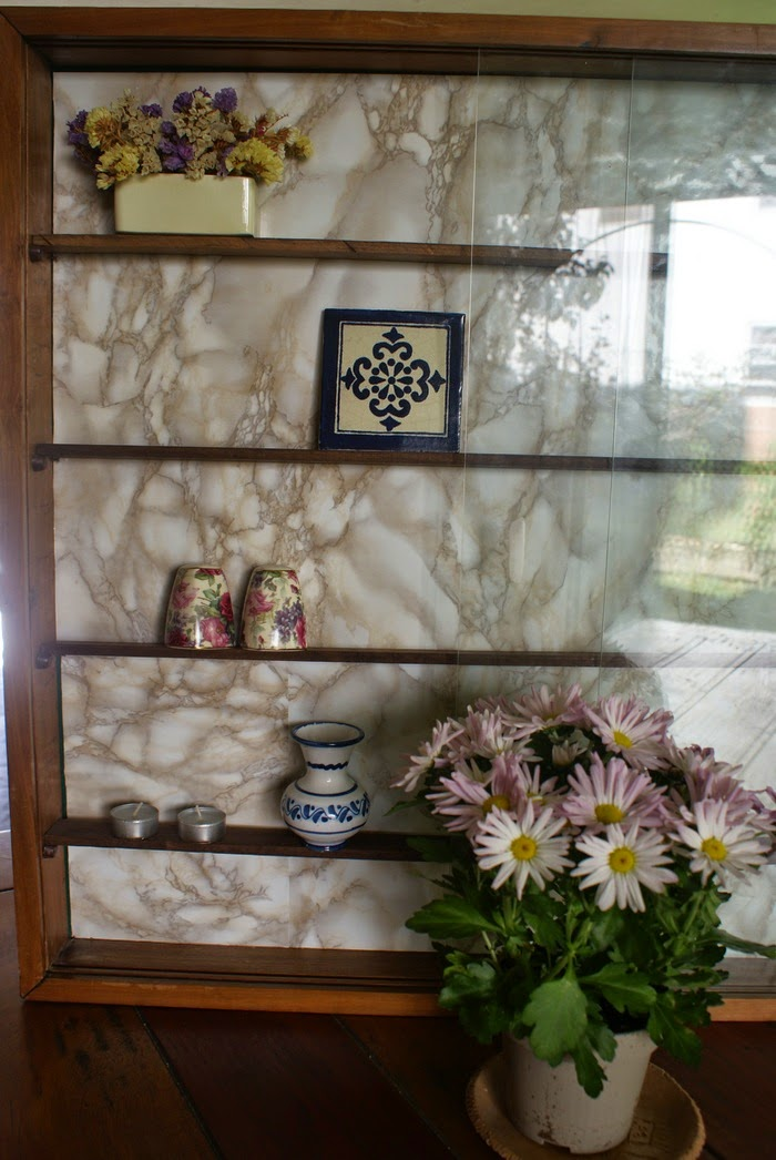 marble displaycabinet diy home