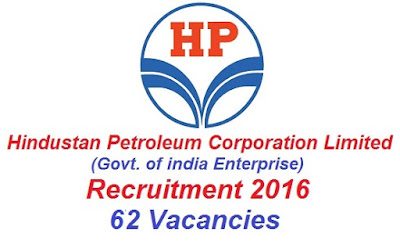 HPCL Recruitment Notification 2016