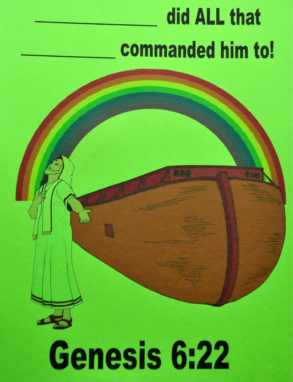 Bible Fun For Kids Genesis Noah S Ark