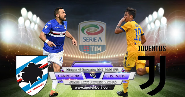 Sampdoria vs Juventus 19 November 2017