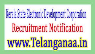 Kerala State Electronic Development CorporationKELTRON Recruitment Notification 2017