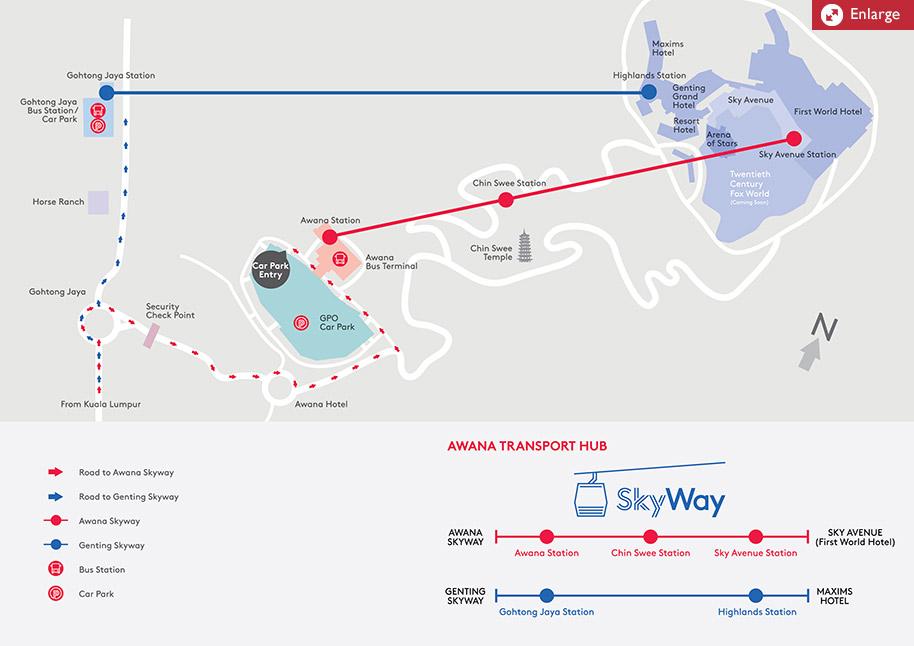 Genting Highlands Malaysia Awana Skyway Free Rides