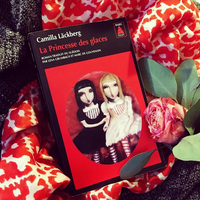 Chronique littéraire La princesse des glaces par Mally's Books
