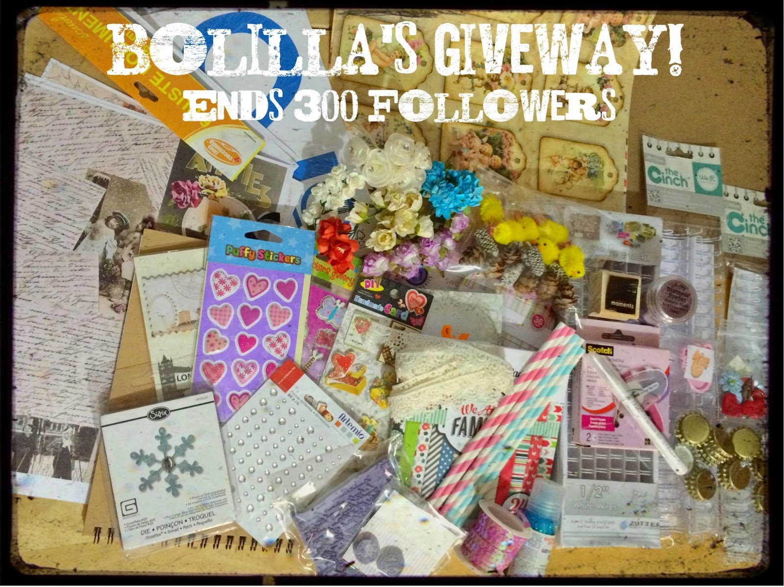Bolilla's Giveaway