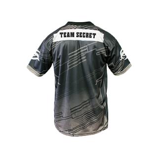 Baju Kaos Jersey Gaming Team Secret Player