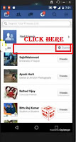how to hide friendlist on facebook on mobile