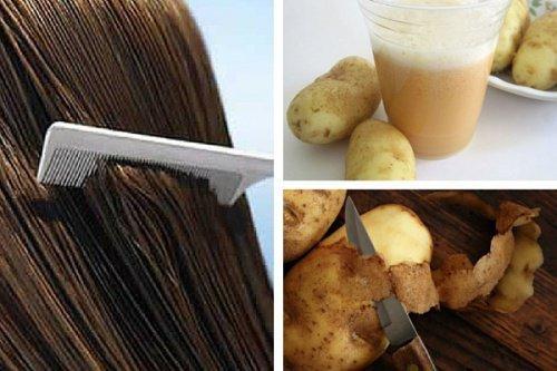 Jus de fruit pour faire pousser les cheveux
