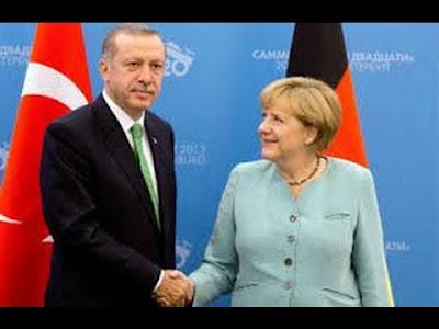 merkel'in erdoğan'a bakışı