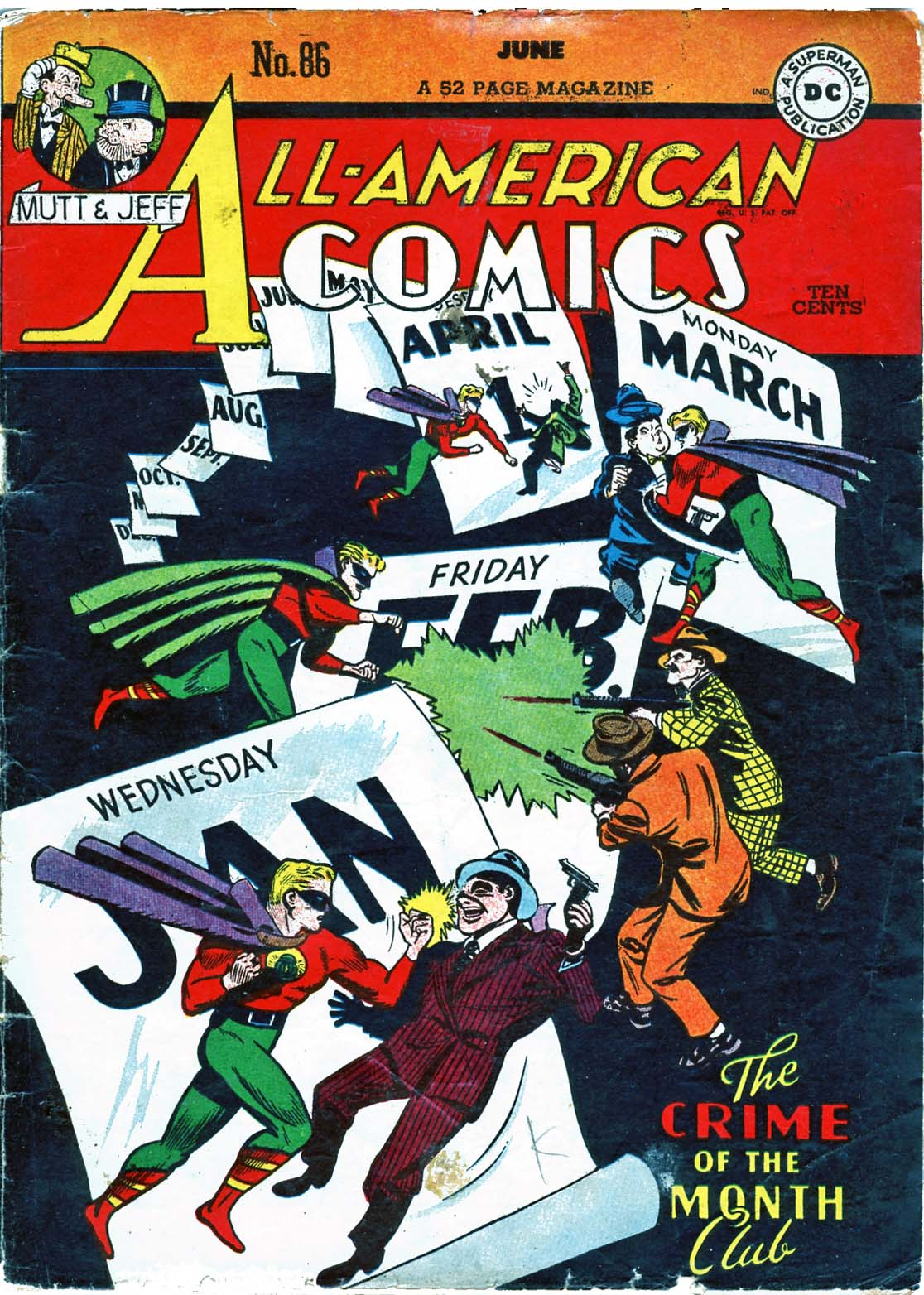 Read online All-American Comics (1939) comic -  Issue #86 - 1