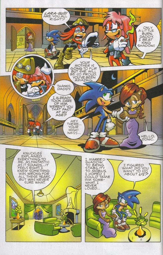 Read online Sonic The Hedgehog comic -  Issue #167 - 16
